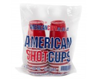 American Shot Cups, Red (20 pack)