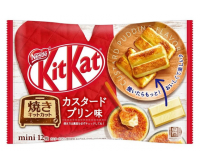 KitKat Mini Baked Custard Pudding