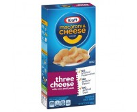 Kraft Three Cheese Macaroni & Cheese (206g)