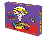 WarHeads Sour Chewy Cubes, Theater Box (113g)