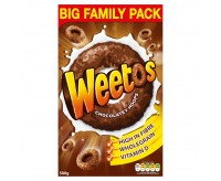 Weetos Chocolate Hoops, Cereal (500g)