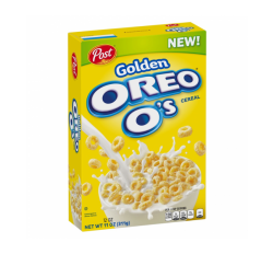Post Golden Oreo O's Cereal (311g) BEST BY 14-04-2020