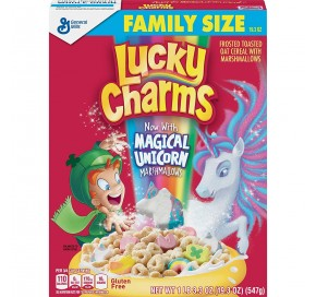 Lucky Charms Original, Family Size (547g)