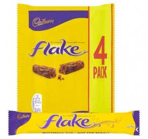 Cadbury Flake 4 Pack (80g)