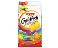 GoldFish Baked Snack Crackers, Cheddar Colors (187g)