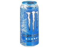 Monster Energy Zero, Ultra Blue (473ml)
