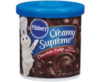 Pillsbury Frosting, Creamy Supreme Chocolate Fudge (453g)
